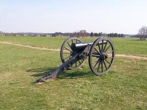 One of Ricketts\' Guns