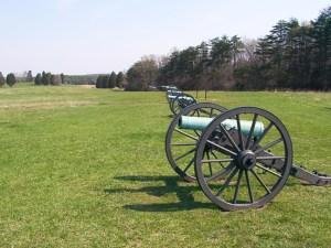 Jackson\'s Artillery Line