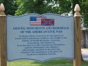 Sign in Mt. Olivet Cemetery
