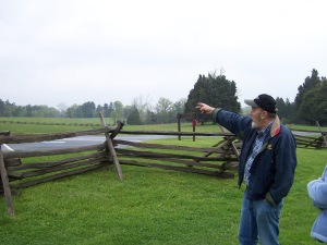 Shotgun Discusses Action on Chinn's Ridge April 2005