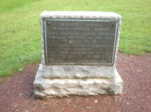 Bartow Monument, Henry Hill, MNBP