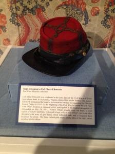 Elmer Ellsworth's Kepi