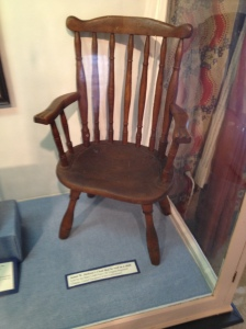"Boyhood Chair of the ""Hero"" James Jackson"