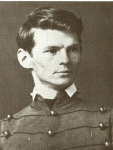 Cadet Emory Upton, as he may have looked at the time of First Bull Run