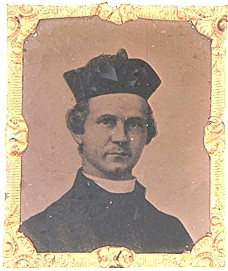 Rev. Father Thomas Mooney, Pastor of St. Brigid's R. C. Church in New York and Chaplain of the 69th NYSM at First Bull Run