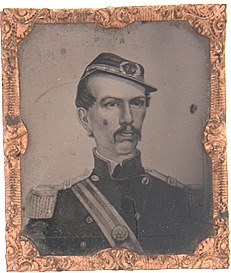 Col. Michael Corcoran of the 69th NYSM, captured at First Bull Run