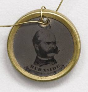 Col. Ambrose Burnside, who commanded a brigade in David Hunter's Division of McDowell's Army at First Bull Run