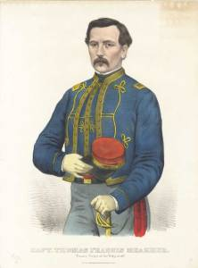 1861-currier-ives-engraving-1entitled-capt-thomas-francis-meagher-zouave-corps-of-the-sixty-ninth-brightly-tinted-meagher-appears-in-his-zouave-uniform-of-the-69th-new-york-vols