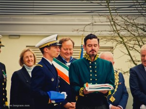 Modern Day Meagher in Waterford Cities Tricolour Celebration