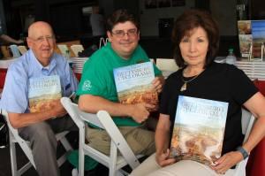 Brian Dowling, Chris Brenneman, and Sue Boardman