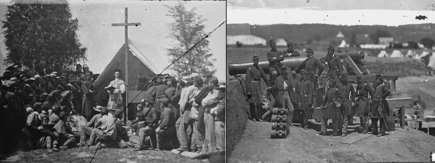 69th NYSM at Fort Corcoran