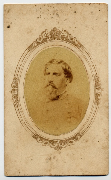 Walton, oval bust cdv
